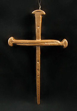 Cast Iron Cross Crucifix
